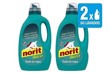 Norit - Detergente Diario Toda la Ropa, 2 Unidades de 2120ml ...