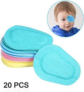 Ewinever(R) 6PCS Amblyopia Eye Patch For Glasses,Treat Lazy Eye and Strabismus for kids,No irritation to children's skin! (Multicolor)