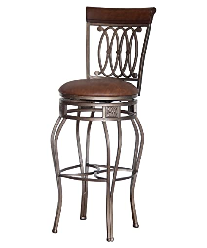 Amazoncom Bistro Counter Bar Stools 32 Inch Swivel Chairs Pub