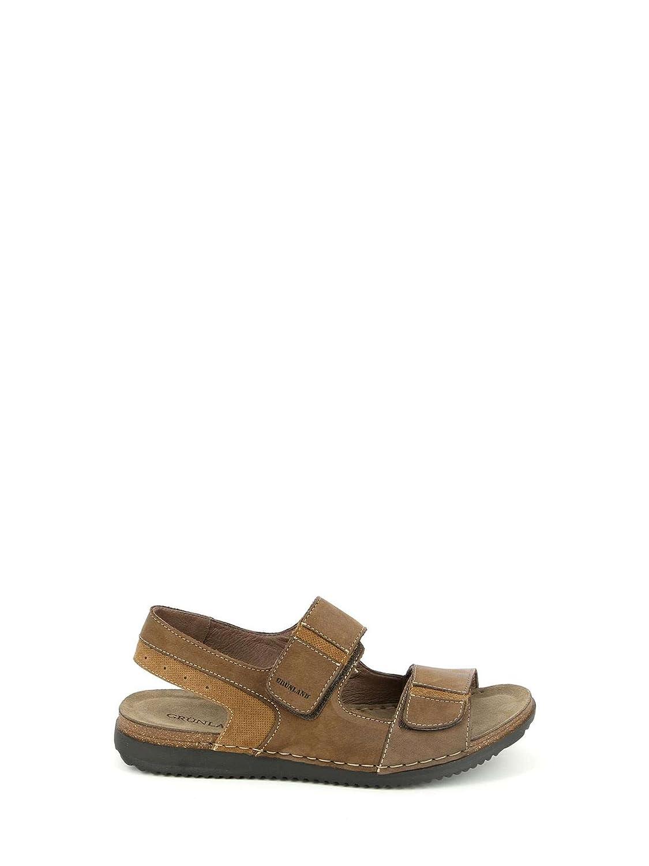 GRUNLAND SA1626 Sandalias Hombre 43 EU|Marr貌n Zapatos de moda en línea Obtenga el mejor descuento de venta caliente-Descuento más grande