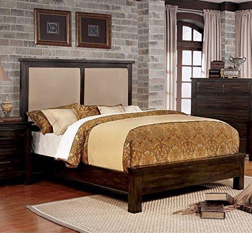 Canopus Dunkles Walnussholz Massiv Holz Queen Bett Von Mobel Von Amerika Amazon De Kuche Haushalt