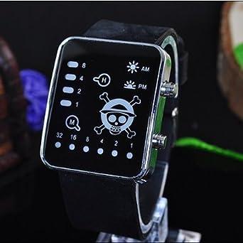 Traje de Cosplay Anime reloj de pulsera, reloj con Cool LED One ...