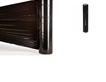 Stretchfolie 500mm 300m Strechfolie opak schwarz 23my