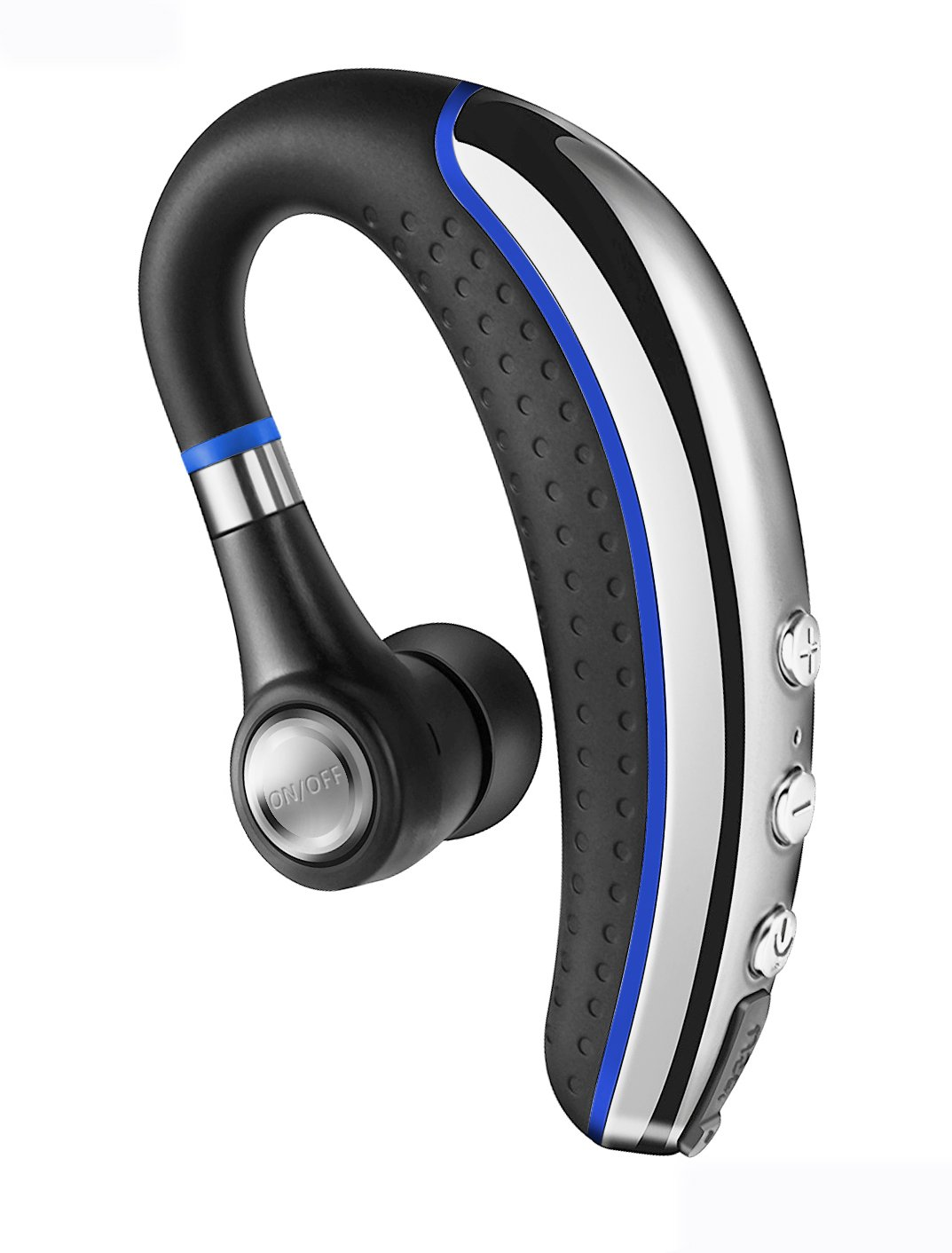Bluetooth Headset, Wireless Bluetooth Headphones with Mic Noise Reduction and Mute Lightweight Earphones for Business, Office, Driving Bluetooth V4.1 Handsfree In-Ear Earpiece Earbuds for ISO&Android