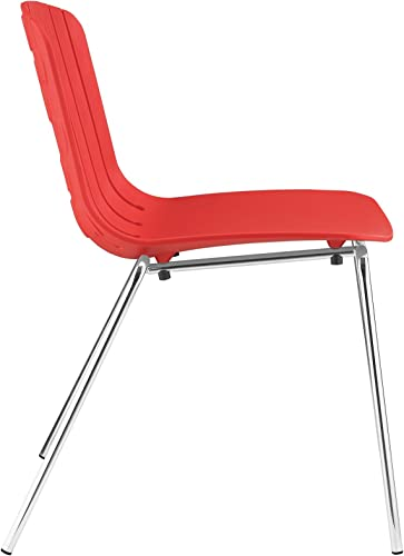 Modway Trace Modern Molded Plastic Dining Side Chair