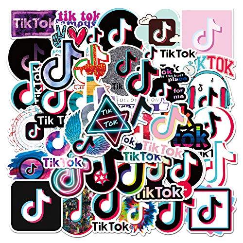 🥇 Fun TikTok Stickers 50pcs