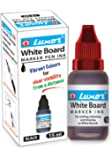 Luxor Whiteboard Marker Ink, 15 ml, Red - Pack of 10