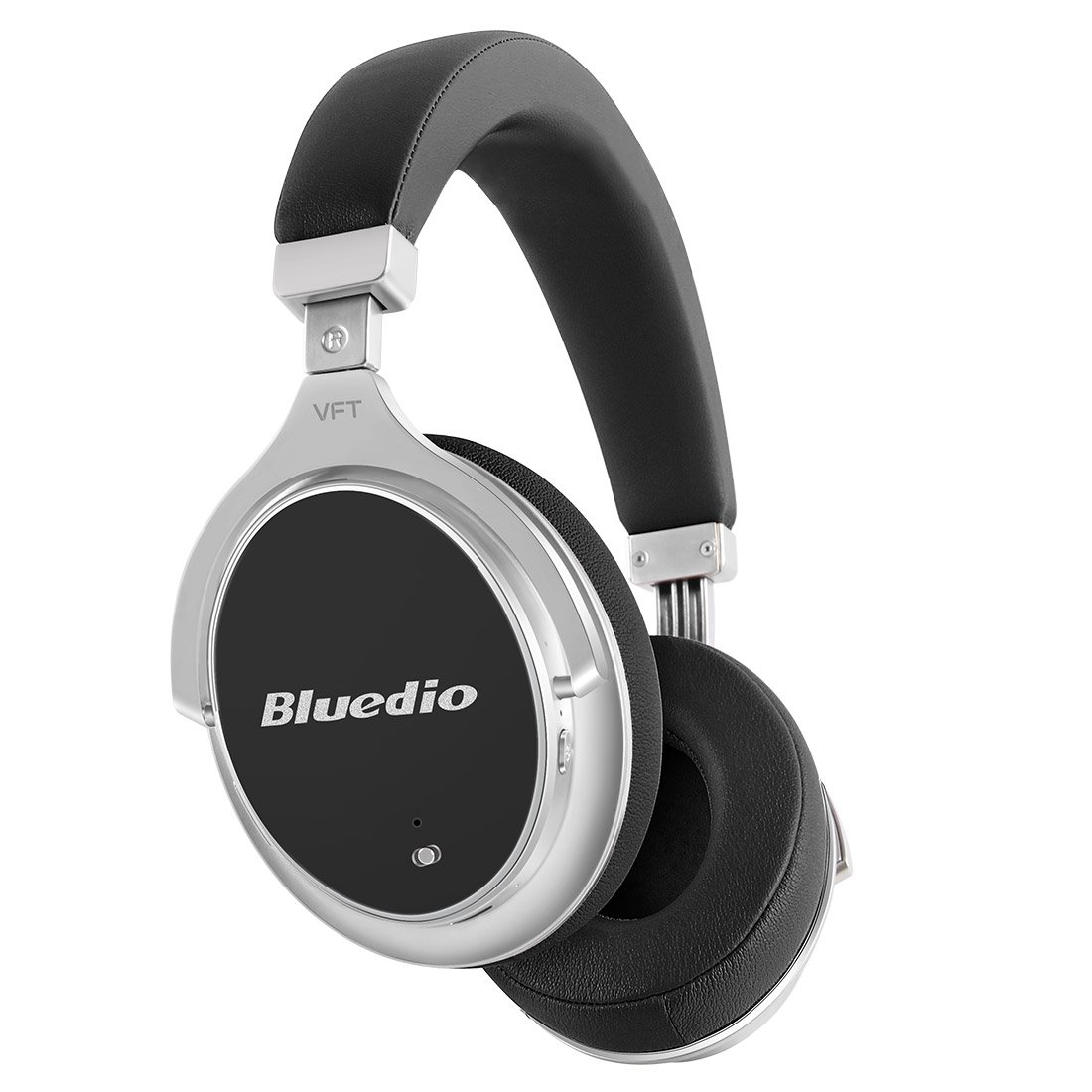 bbad79d5ddd Bluedio F2 Wireless Bluetooth Headphones with Mic, Active Noise Cancelling( ANC) and Vector Flow Technology, Over Ear Headsets with Ear Cups  180°Rotation, ...