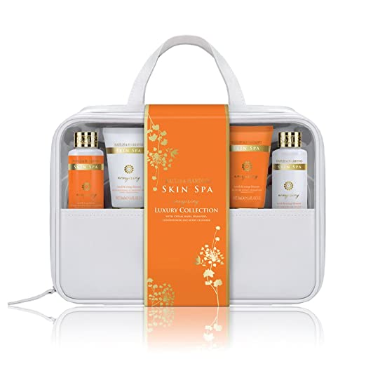 Amazon.com: Baylis & Harding Luxury Travel Bag, Skin Spa Escape Cherry Blossom/Jasmine: Beauty