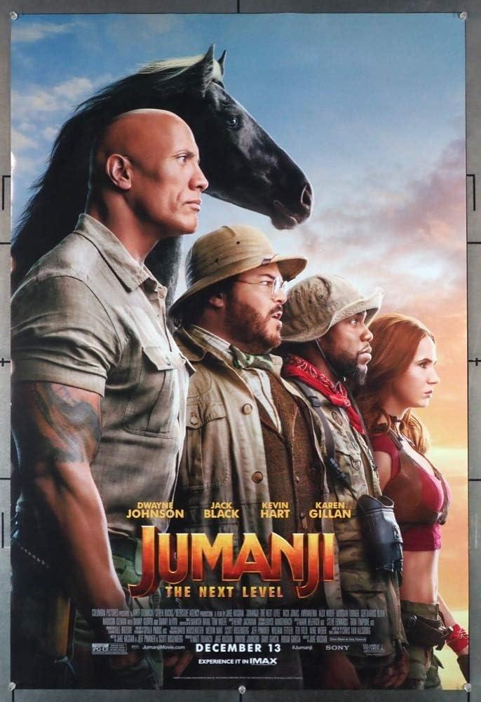 Jumanji: The Next Level (2019) Original Movie Poster at Amazon's ...