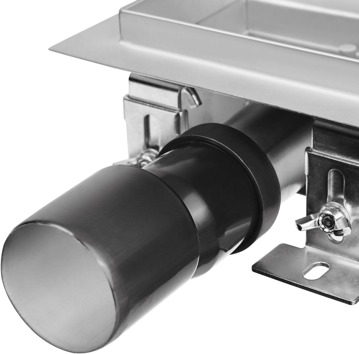 12 x 12 cm Zelsius moderne en acier inoxydable de douche bonde plusieurs mod/èles et tailles Caniveau de douche Cowell