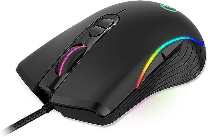 Zhenren Gaming Maus Hochleistungs Gaming Maus Mit 6400 Elektronik