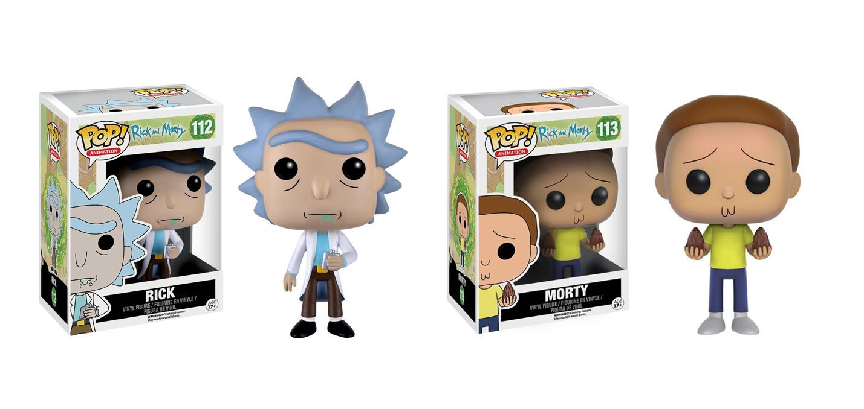 Amazon com funko pop animation rick morty rick morty action figure bundle toys games