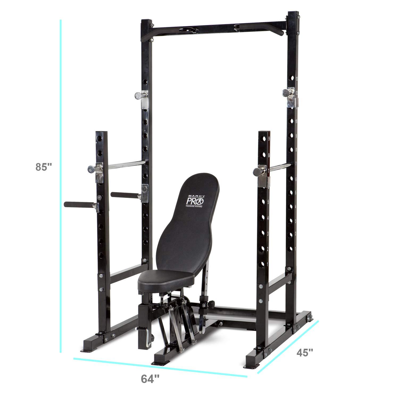 amazon com marcy platinum multi functional power rack and weight rh amazon com Powerhouse Home Gym Manual Powerhouse WM-1501 Manual