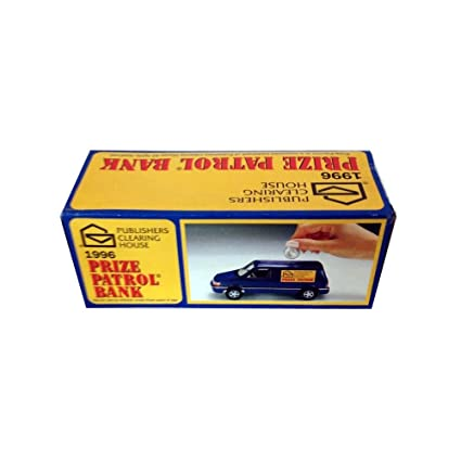 Publishers Clearing House 1996 Prize Patrol Coin Bank