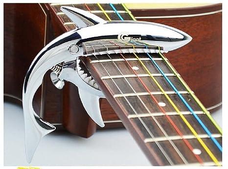Youniker Cejilla Guitarra Española Cejilla Guitarra para Electricas Clásica Acústica Folk Ukelele Bajo Aleación de Aluminio