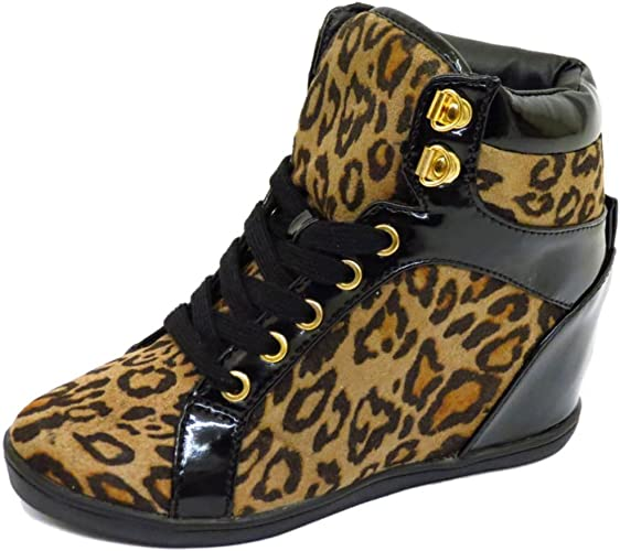 leopard print shoes size 12