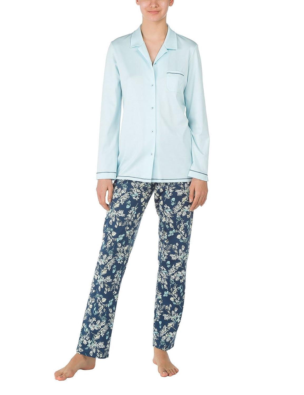Calida Damen Zweiteiliger Schlafanzug Pyjama Hollyrose