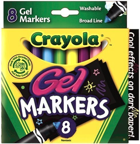 Crayola Count Gel Washable Markers