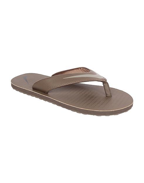 75bd0d2c233c Nike Men s Chroma Thong 5 Palmno and Light Taupe Hawaii Thong Sandals - 10  UK
