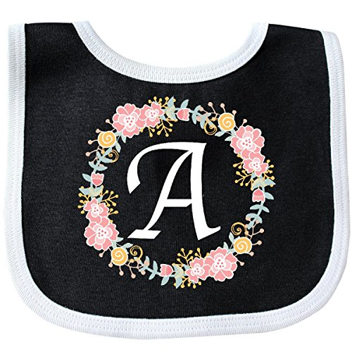 Inktastic - Letter A Rose Floral Wreath