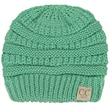 ScarvesMe Exclusive CC Knitted Children Knit Beanie Ages 2-7 (Sage)