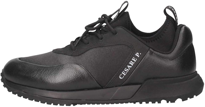 Scarpe uomo sneakers CESARE P PIT JM5512 MHA000 nero