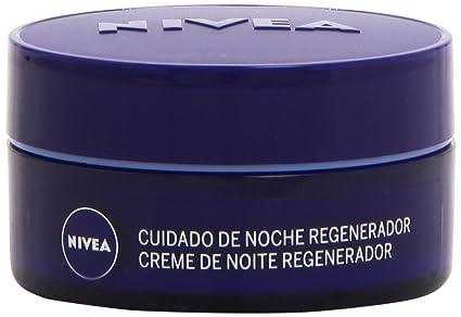 Nivea - Crema para cara y rostro de noche regeneradora para piel normal y mixta -
