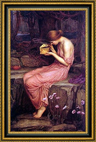 Psyche Opening the Golden Box by John William Waterhouse - 13