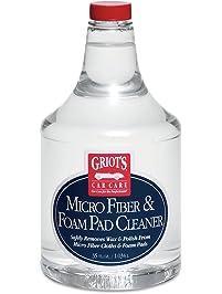 Griot's Garage 11078 Micro Fiber and Foam Pad Cleaner 35oz