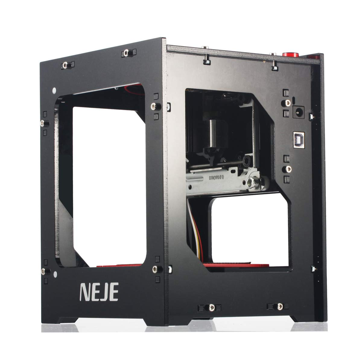 No Bluetooth NEJE DK-8-FKZ 1500mW High Speed Mini USB Laser Engraver Carver Automatic DIY Print Engraving Carving Machine Off-line Operation with Battery