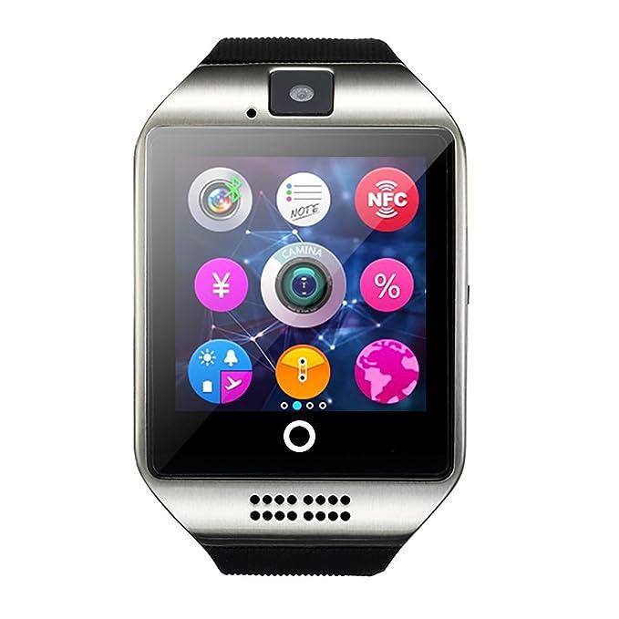 Reloj inteligente Android, deyoun® Smart muñeca reloj teléfono inalámbrico Bluetooth SmartWatch con cámara SIM