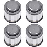 KEEPOW PVF110 Replacement Filters for Black & Decker BDH2000PL Pivot Vacuum, 4 Pack