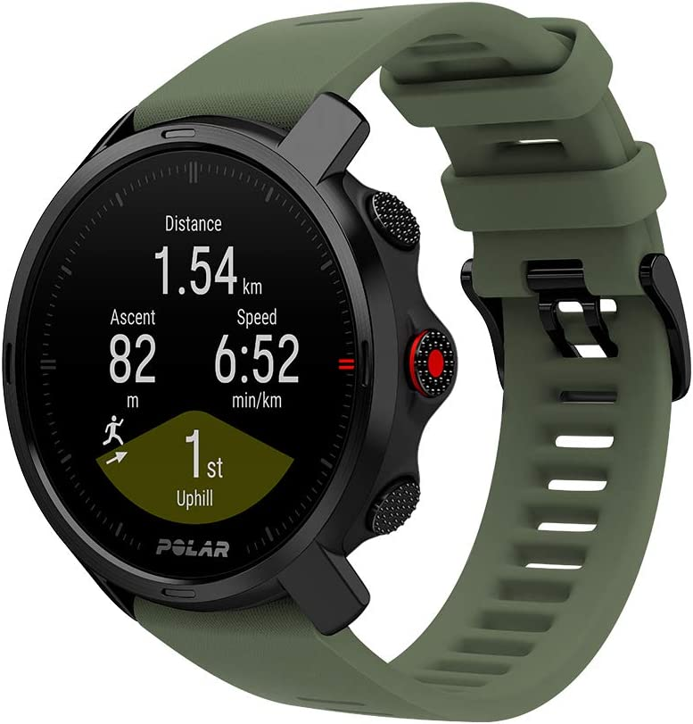 POLAR Grit X - Rugged Outdoor Watch with GPS
