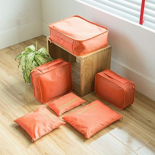 Juego de 6 bolsas de almacenamiento para guardar ropa ...