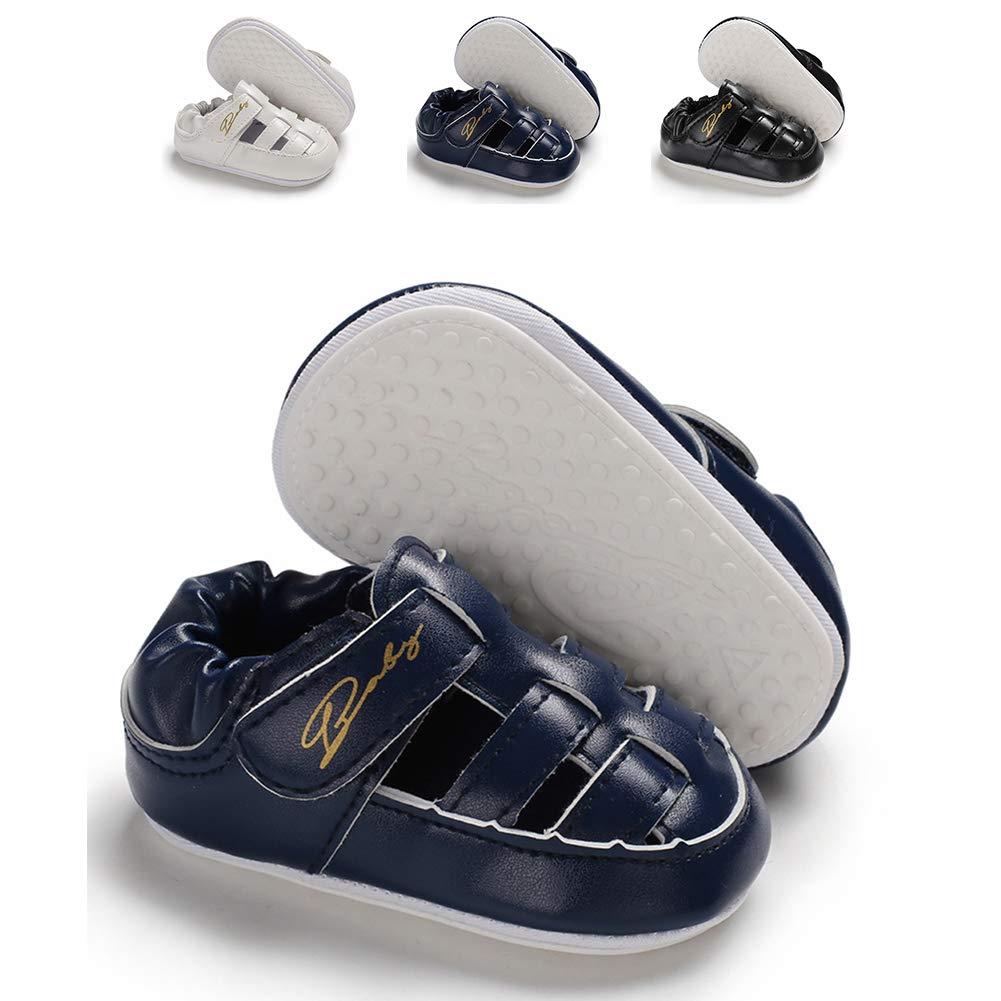 Sabe Unisex Baby Boys Girls Toddler Slippers with Rubber Non-Slip Bottom Summer Sandals Shoes Brethable Sneaker Infant Prewalker 0-18 Months