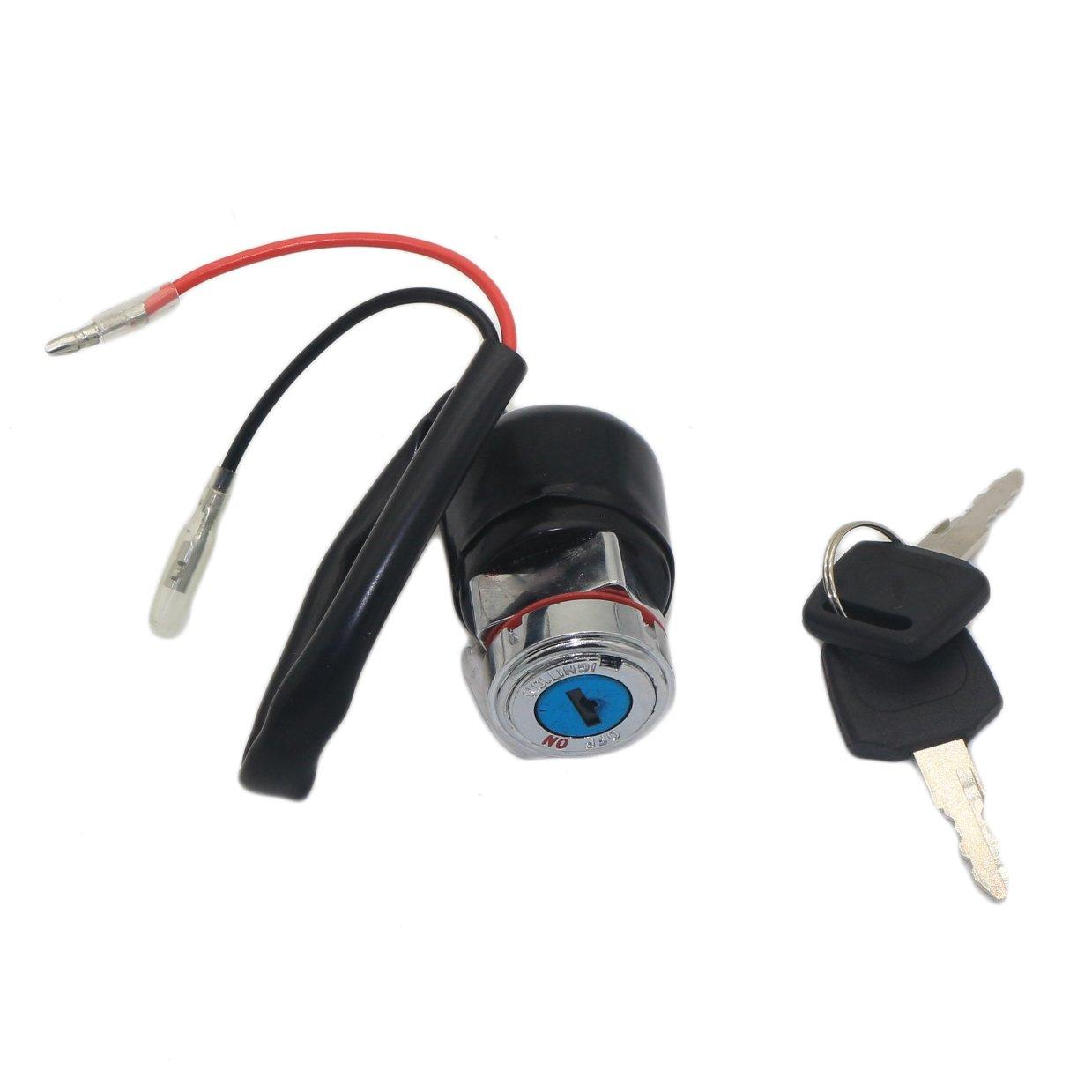 JINGKE Black Ignition Key Switch For Honda CL70 CB100 CB125S CL100 XL100 NEW JINGKE-DMS