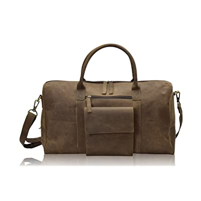 TONY'S BAGS - 20 inch Weekender bag Travel bag in Vintage Leather