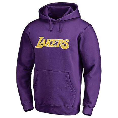 Sudadera con Capucha De Baloncesto para Hombre Lakers James: Amazon.es: Ropa y accesorios