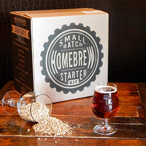 1 Gallon Small Batch Homebrew Beer Equipment Starter Kit with Plinian Legacy Double IPA Beer Recipe Kit (Small Beer Brewing Kit compare prices)