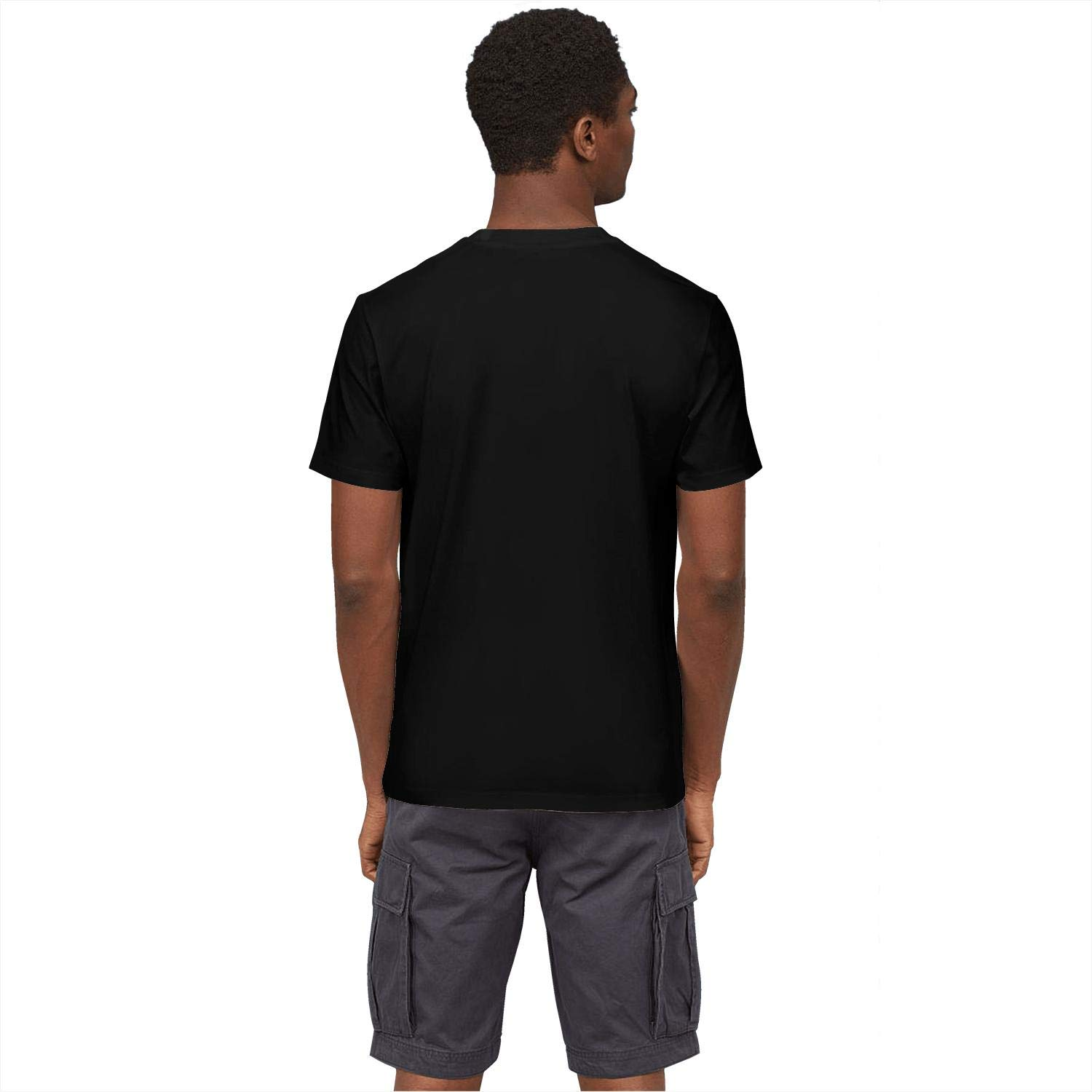 Just Hiker Mens Cool Basketball Players Design Fans Short T-Shirts Gym Clothes Office