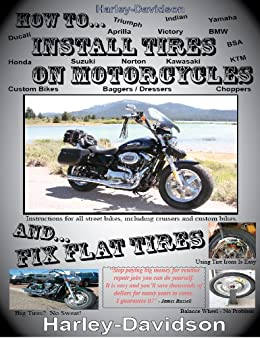 How Install Tires Motorcycles Flat ebook product image