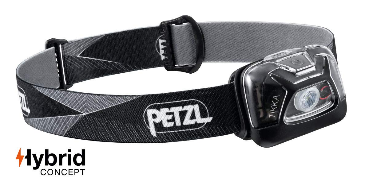 PETZL – Tikka Headlamp, 300 Lumens, Standard Lighting