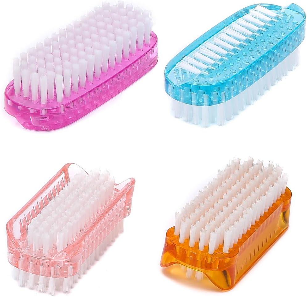 Nail Brush Kid Finger Hand fingernail Brush for Men Women Soft Stiff bristles Scrubber Toe Cleaning Brush