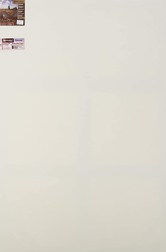 """FREE SHIPPING 1.5/"""" Stretched Artist Canvas Primed Heavy Duty Gallery 48x72"""