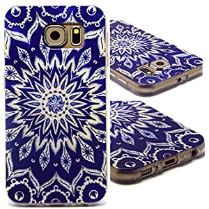 Case for S6,Soft Case For S6,Skin Case For S6,Case For Samsung Galaxy S6,Candywe Fashion Painted Soft TPU Back Case Cover for Samsung Galaxy S6 003