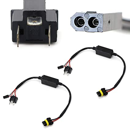 amazon com: ijdmtoy (2) easy relay harness for h4 9003 hi/lo bi-xenon  headlight lighting kit xenon bulbs wiring controllers: automotive