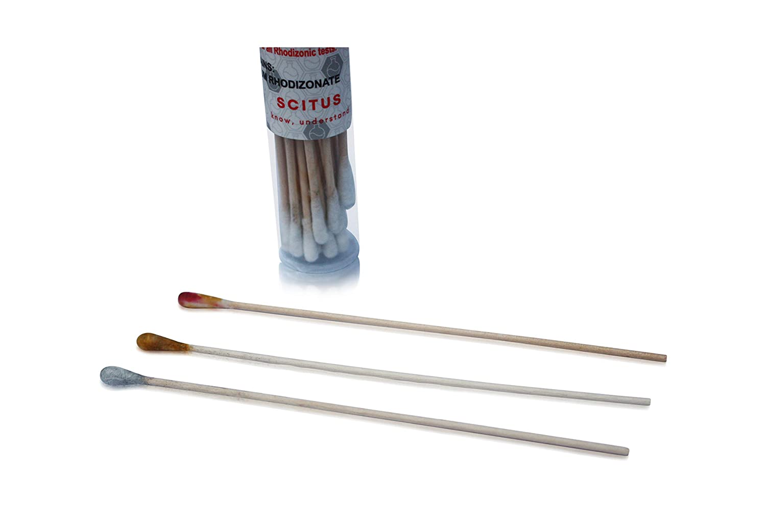 Scitus Lead Test Kit with 30 Testing Swabs | Rapid Test Results in 30 Seconds | Just Dip in White Vinegar to Use | Lead Testing Kits for Home Use | Reagent Lead Check Suitable for All Surfaces