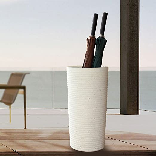 HY-Paragüero Imitación jarrón de cerámica de Estilo Europeo Paraguas de pie Cubo de Paraguas Household Office Hotel Lobb Flower Barril Hogar de ...