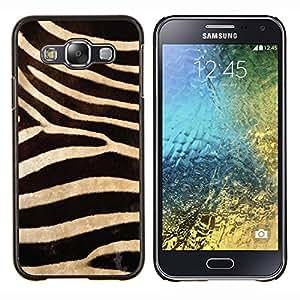 Queen Pattern - FOR Samsung Galaxy E5 E500 - zebra pattern wallpaper textile design - Cubierta del caso de impacto con el patr???¡¯???€????€????